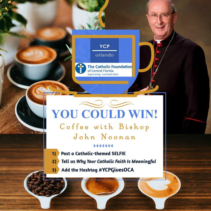 Coffee with Bishop John Noonan Contest