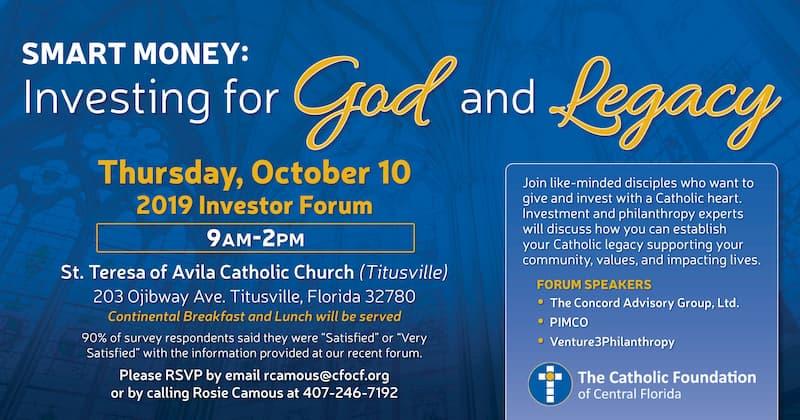 St. Teresa Investor Forum