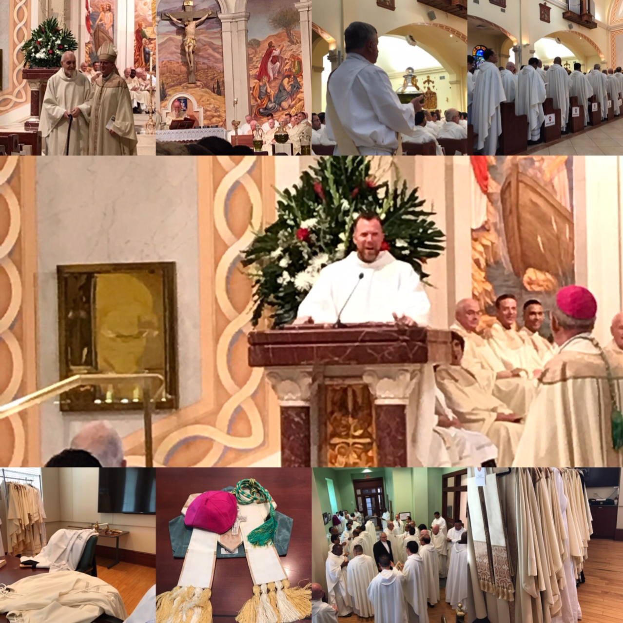 2019 Chrism Mass Collage