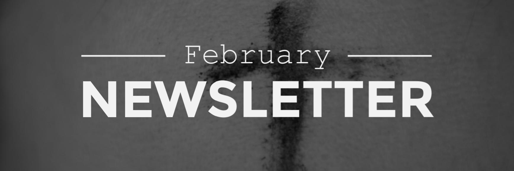 Feb. Newsletter Banner