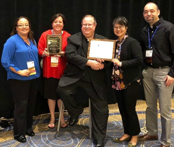 The Catholic Foundation wins two national awards.