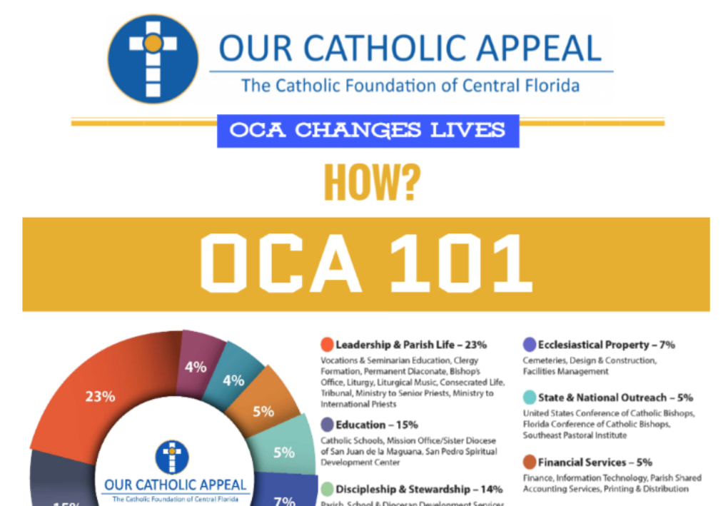 Our Catholic Appeal Infographic Icon