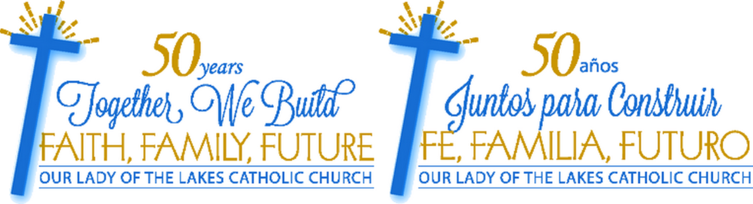 Our Lady of the Lakes Campaign Logo
