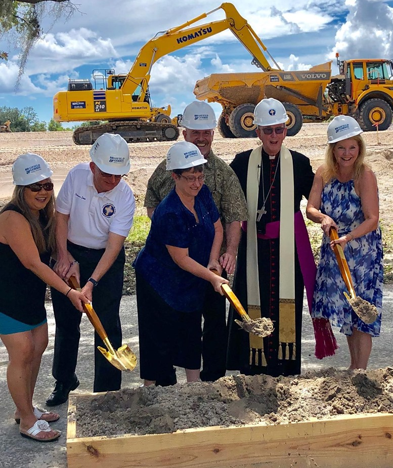 Queen of Angels Cemetery Groundbreaking