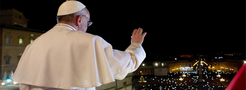 Pope Francis Banner